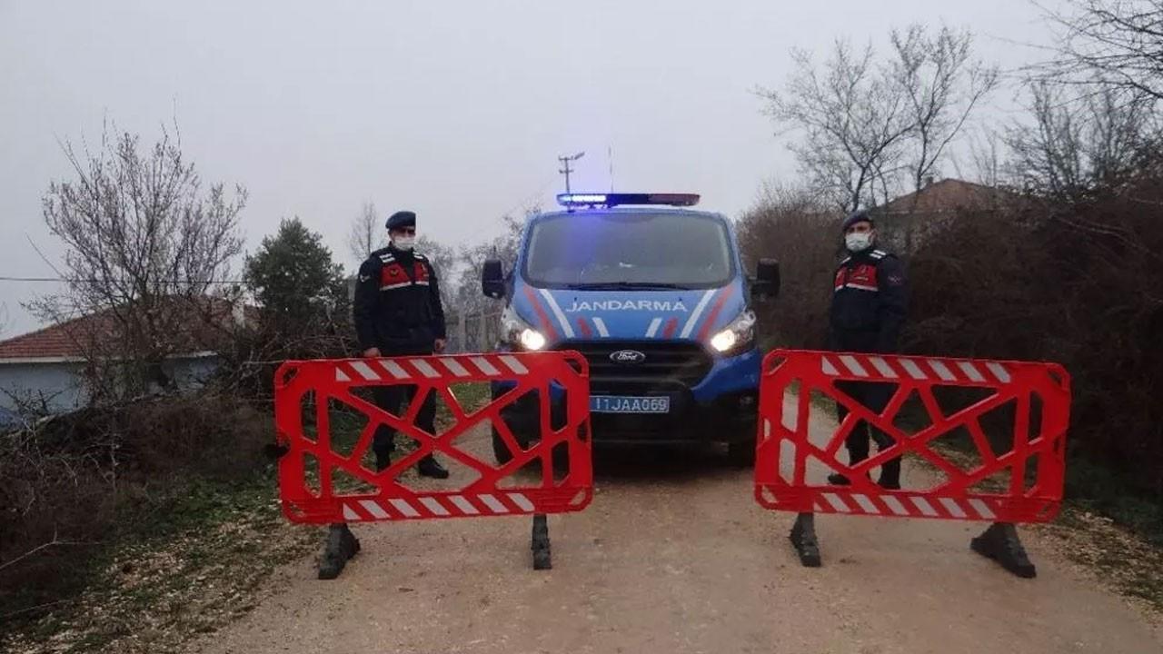 Tüm köy karantinada! Giriş-çıkışlar kapatıldı