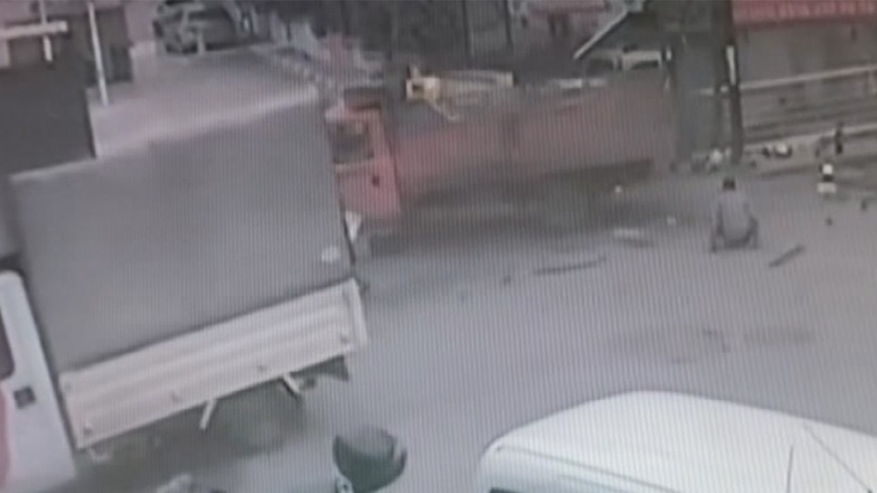 Maltepe'de kamyonet dehşeti!