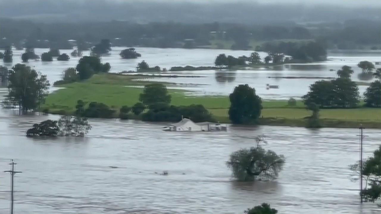Avustralya'daki sel felaketi!