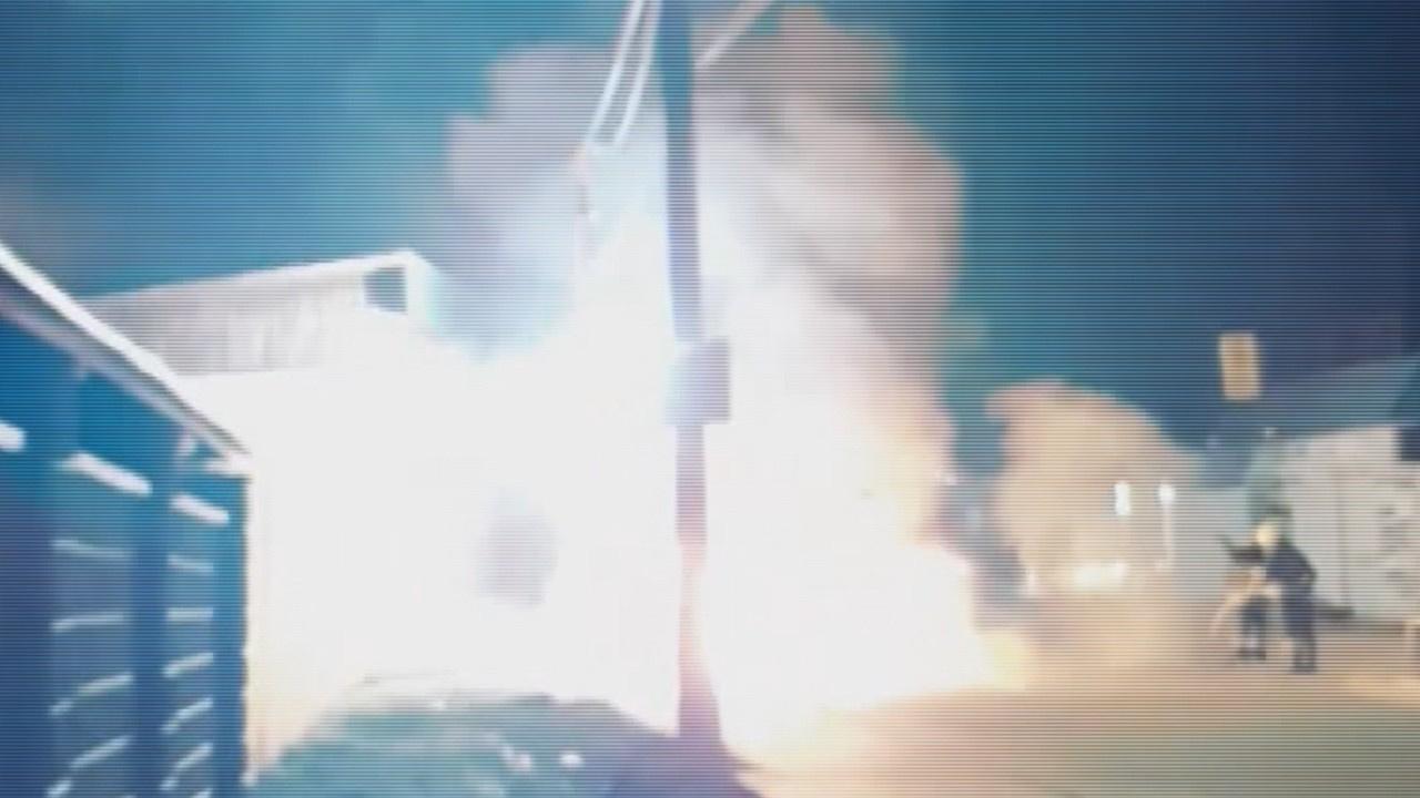 Ukrayna'da minibüste patlama