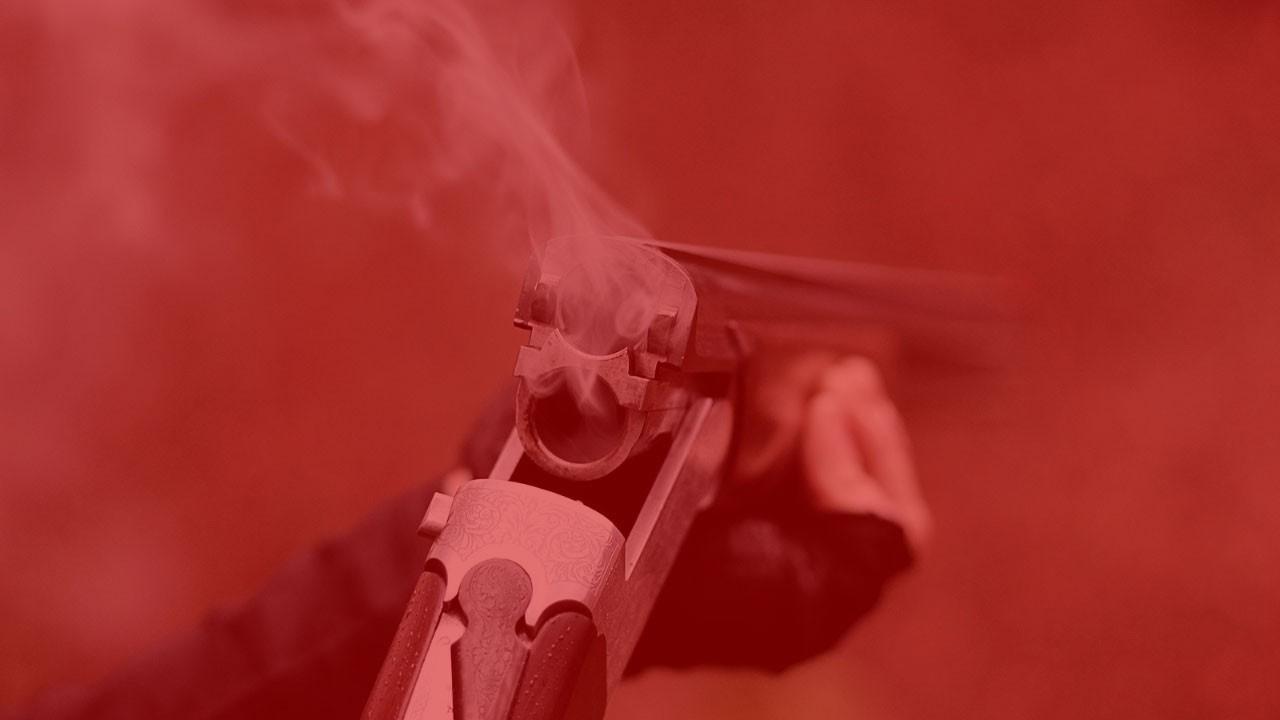Silah sesini duyan komşular ihbar etti!