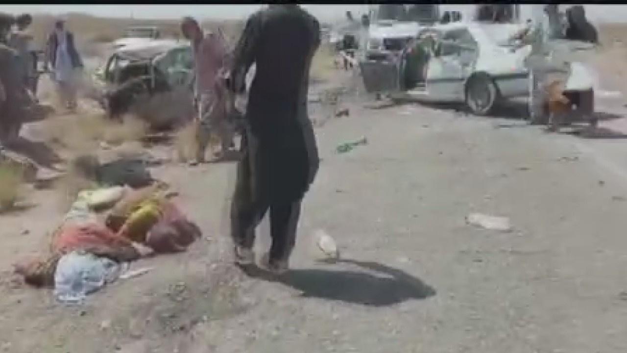 İran'da zincirleme trafik kazası: 14 ölü