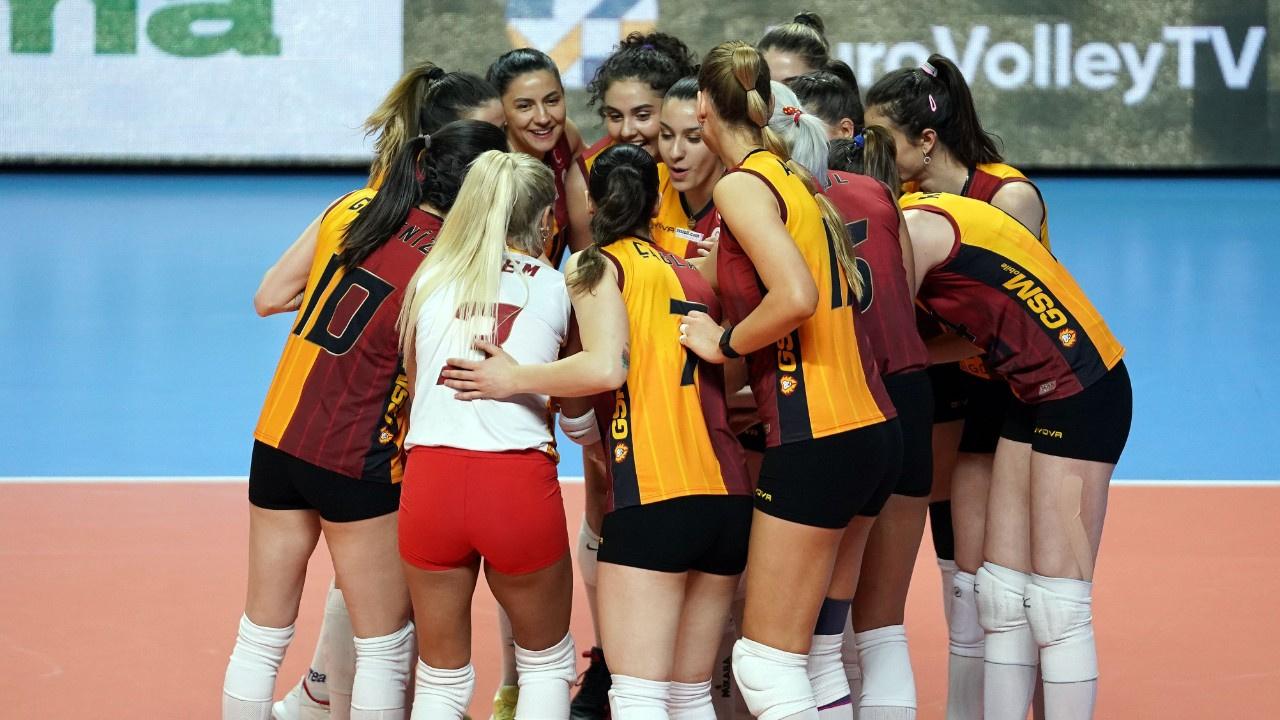 Galatasaray CEV kupasında ikinci oldu