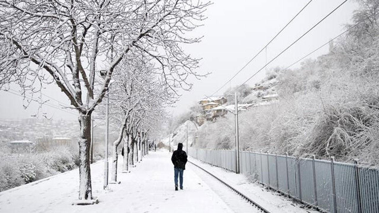 Ankara Valiliği'nden 'kar' uyarısı