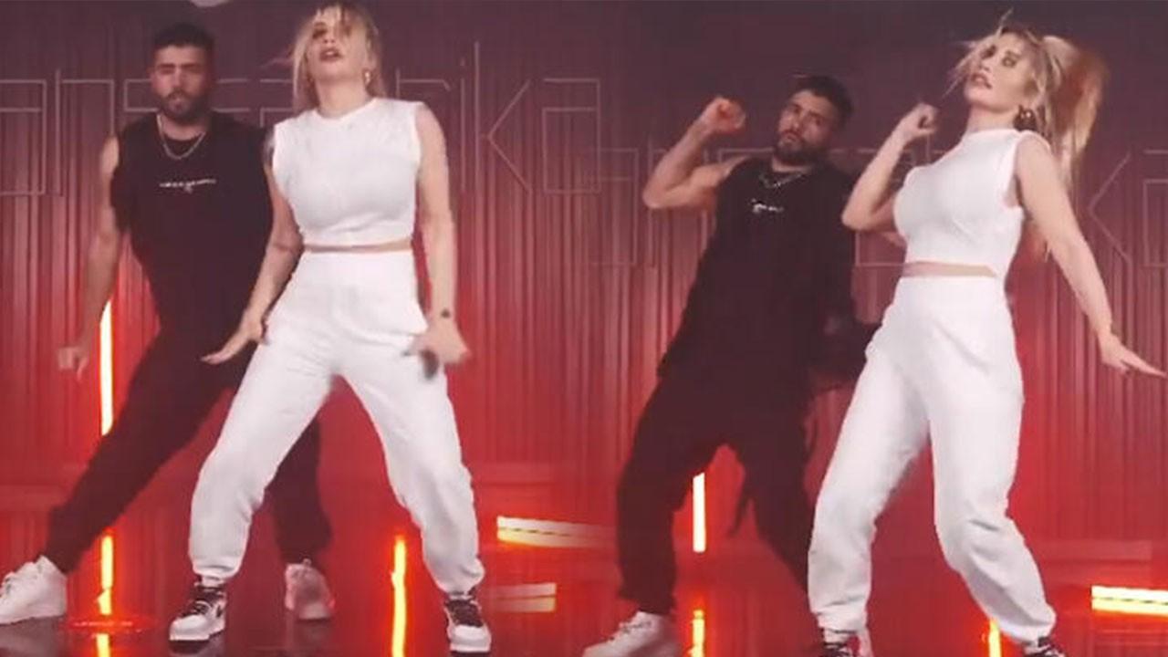 İrem Derici'nin dansı sosyal medyayı salladı