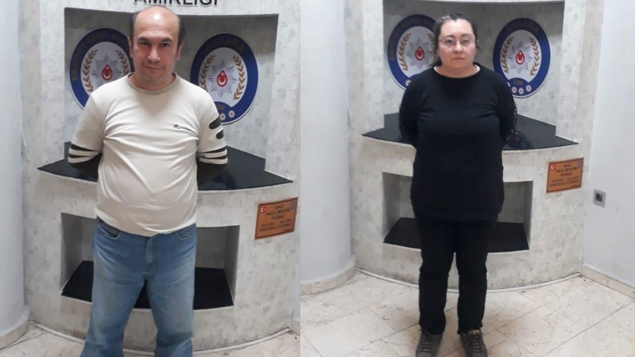 Ankara'da yakalandılar!