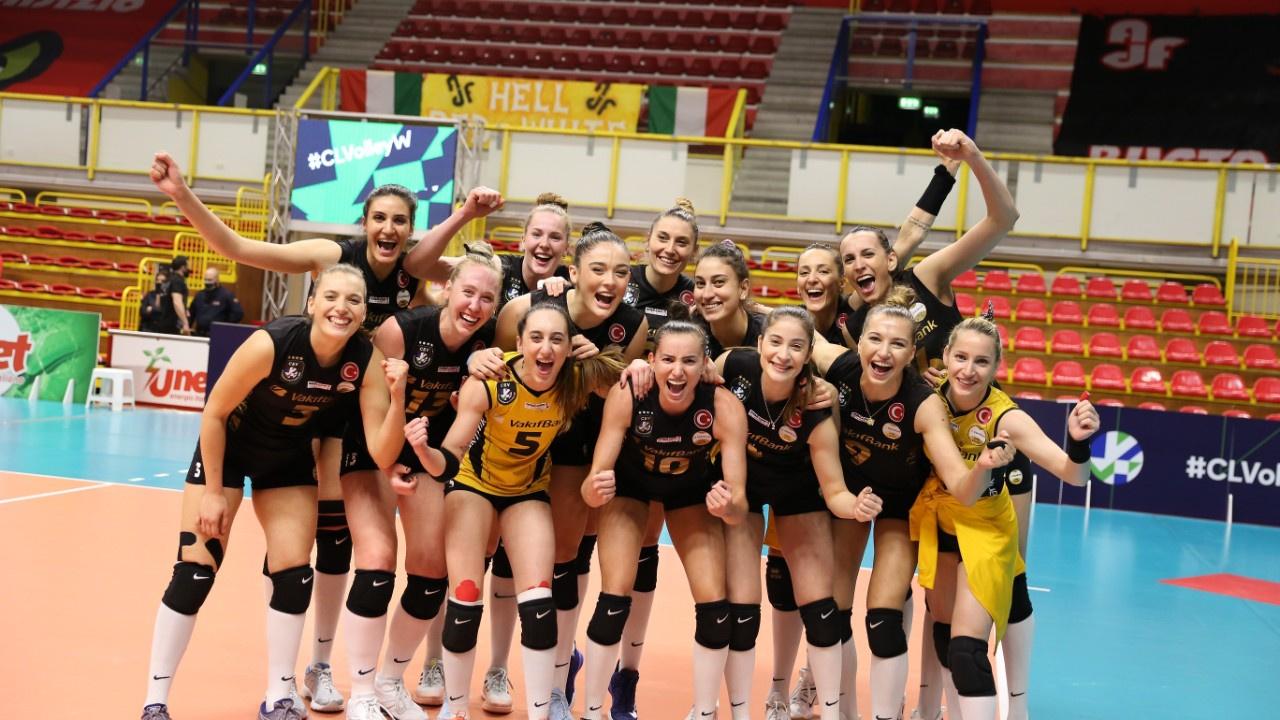 Vakıfbank CEV'de finale yükseldi