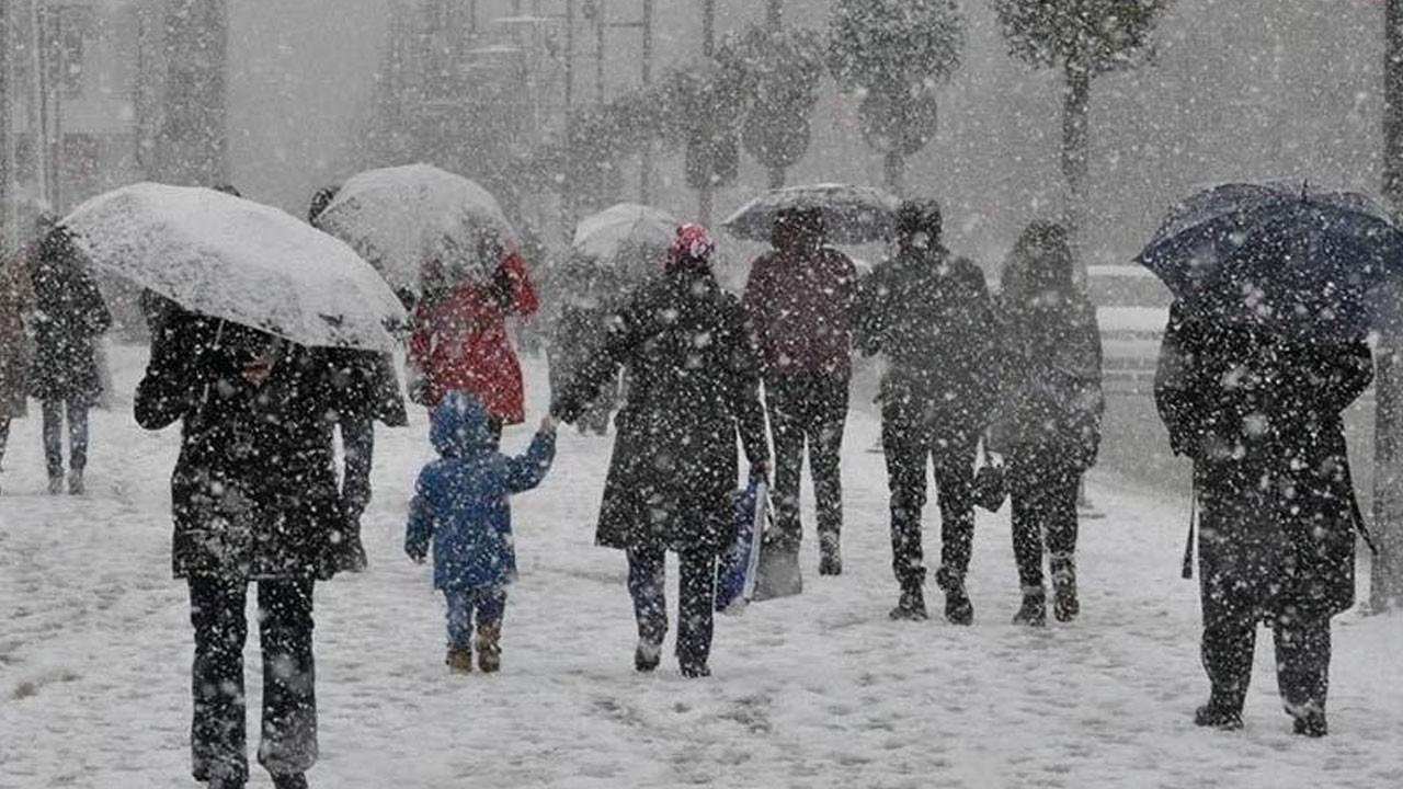 Meteorolojiden 5 il için kar yağışı uyarısı!