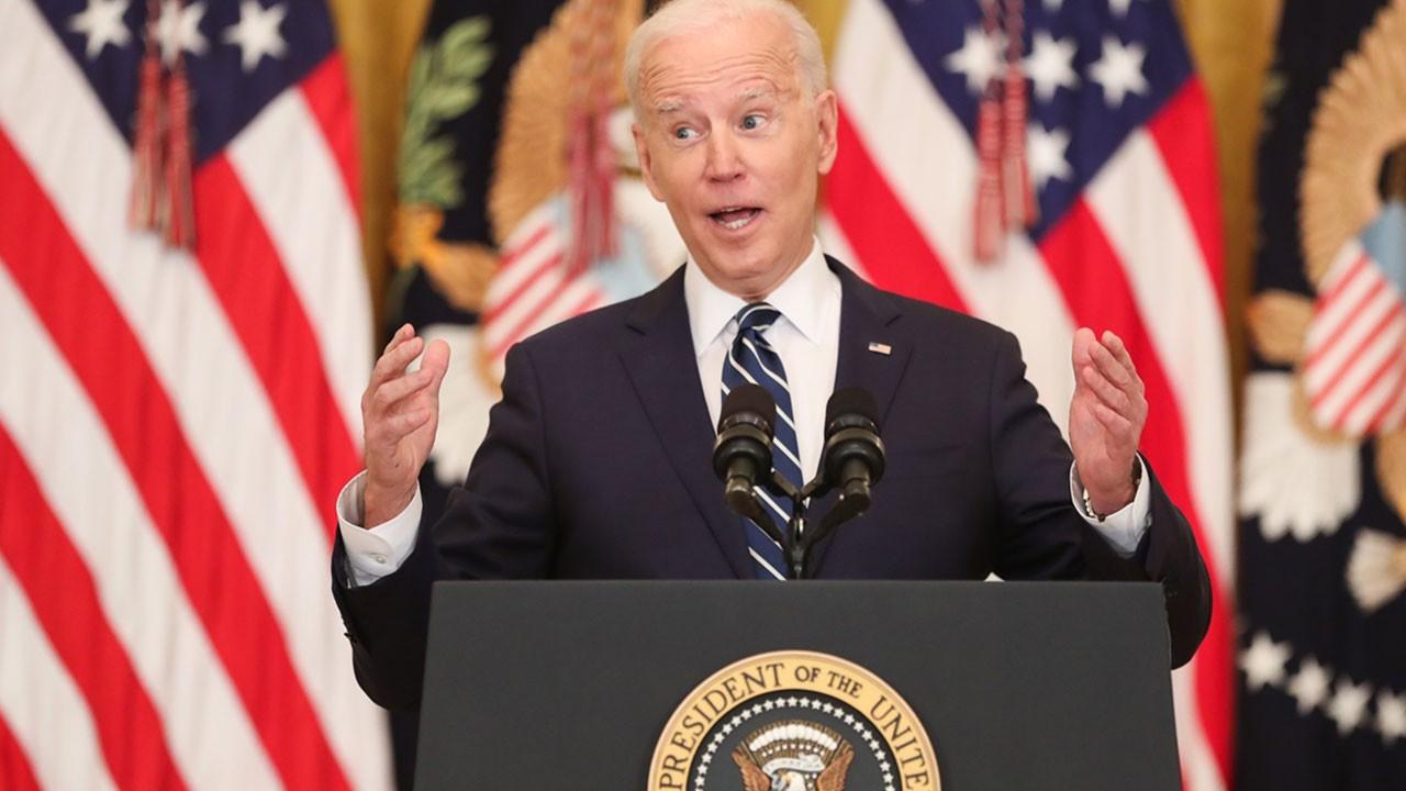 Biden'den tarihi gaf!
