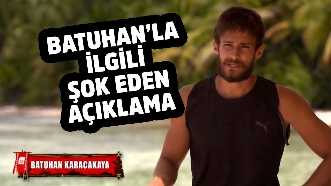Survivor Batuhan ile ilgili şoke eden açıklama!