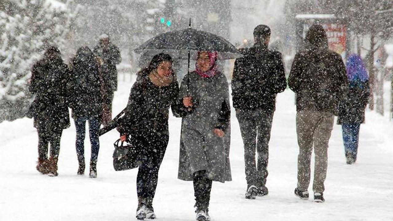Son dakika kar yağışı açıklaması! Korkutan uyarı