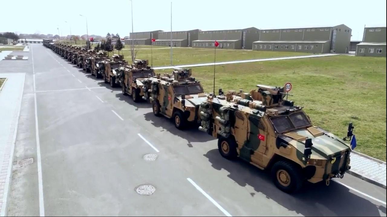 Tekirdağ'da NATO Alarm Tatbikatı gerçekleştirildi