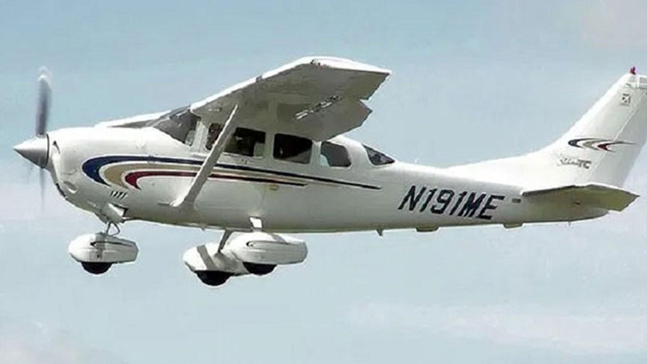 Cessna 206 tipi uçak düştü!