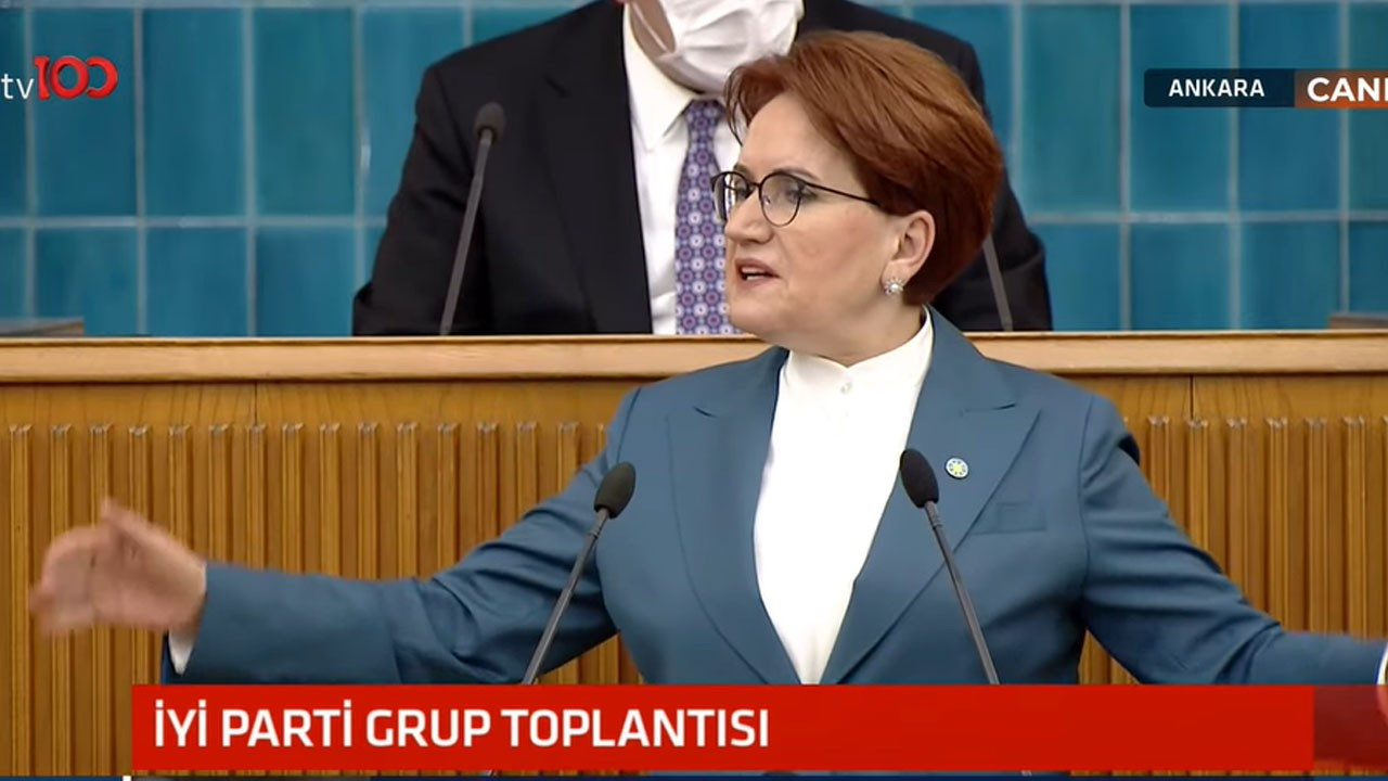 İYİ Parti lideri Meral Akşener iktidara yüklendi!