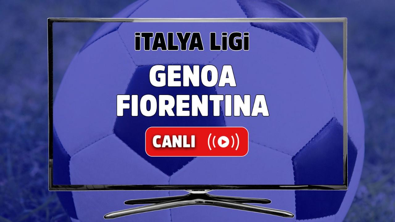 Genoa - Fiorentina Canlı