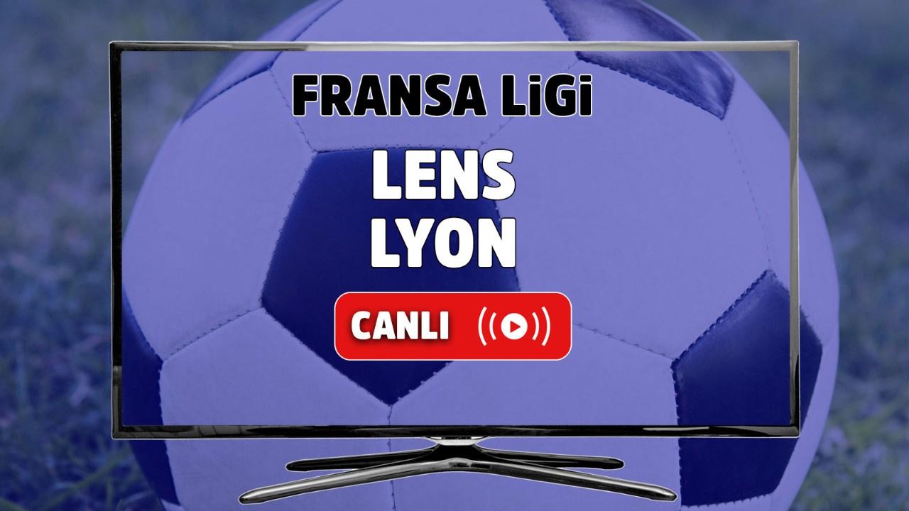 Lens - Lyon Canlı