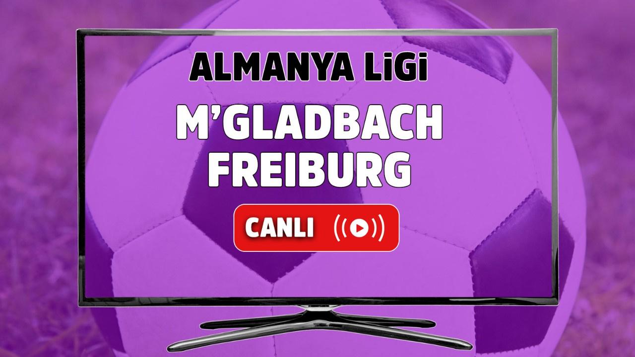 M'gladbach – Freiburg Canlı