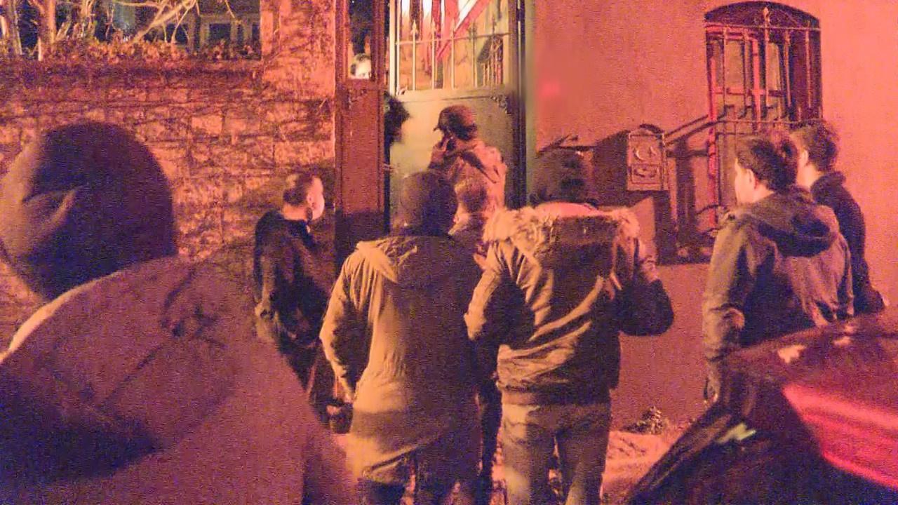 Özpirinçci'nin yaş günü partisine polis baskını