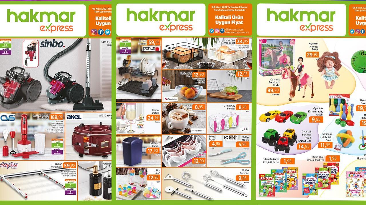 HAKMAR 10 Nisan 2021 Aktüel ürünler kataloğu!