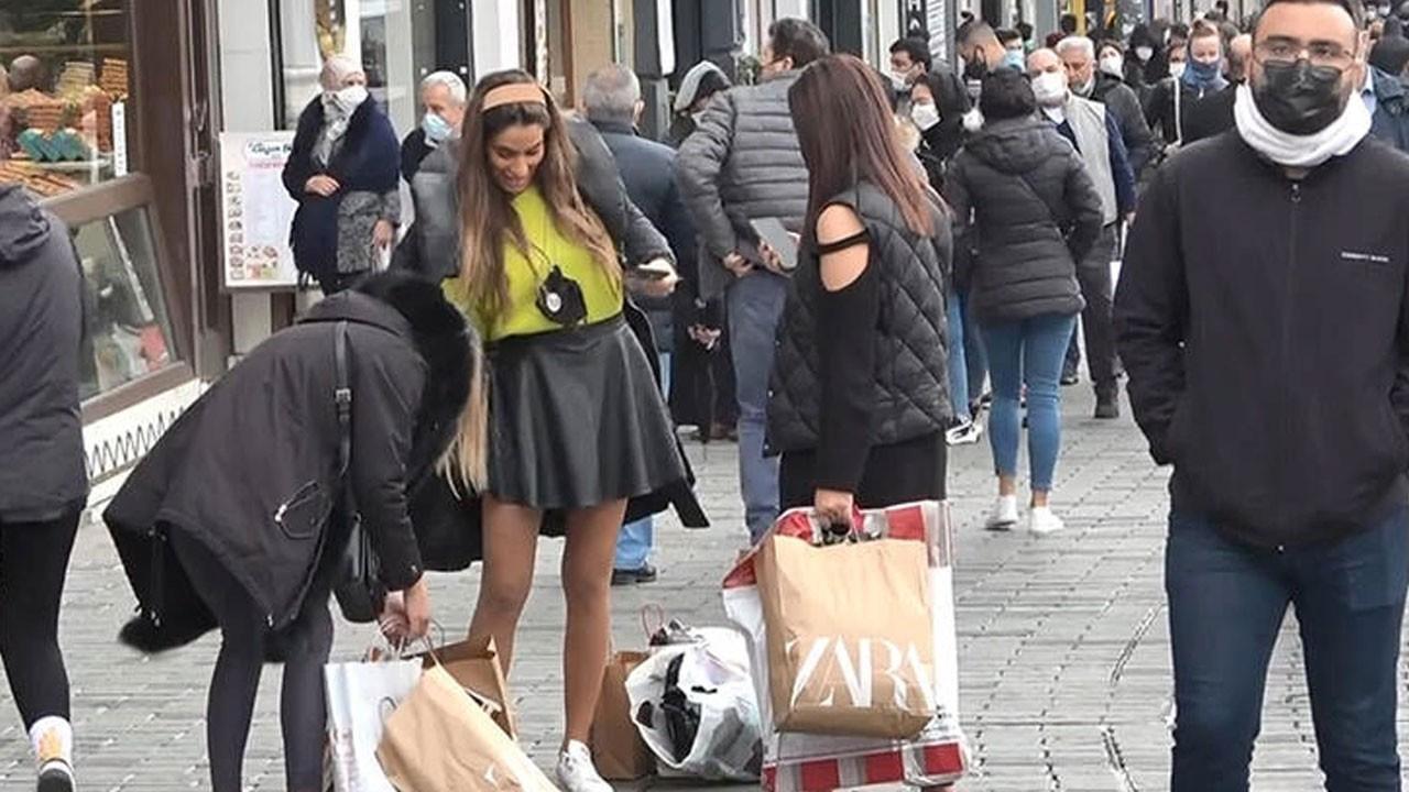 Kısıtlama sonrası Taksim ve İstiklal Caddesi doldu