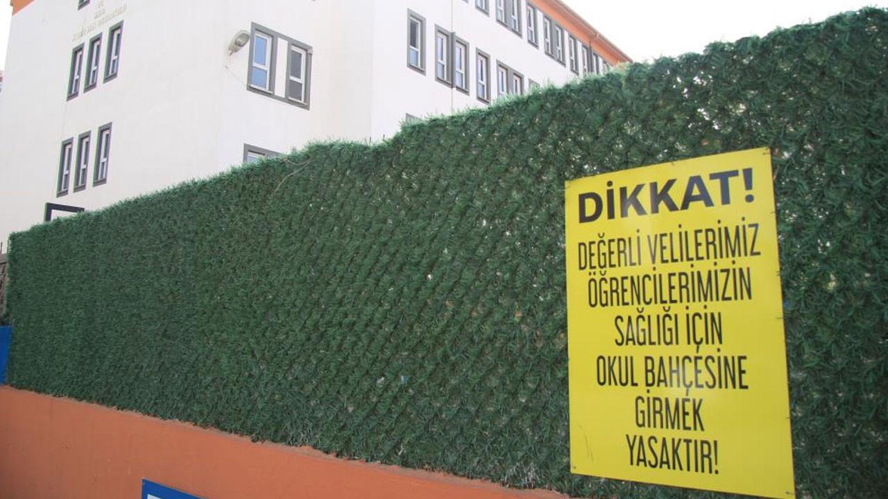 Kayseri'de 3 okulda eğitime 10 gün ara