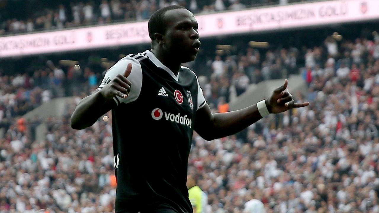 Beşiktaşlı Vincent Aboubakar PFDK'ya sevk edildi