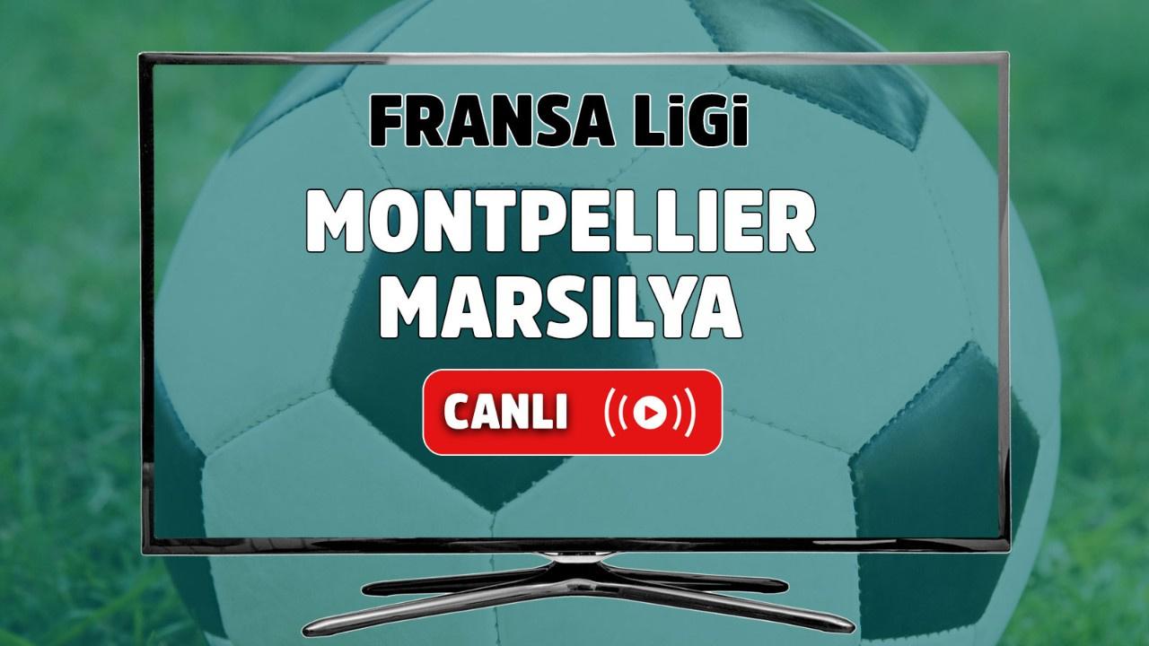 Montpellier - Marsilya Canlı