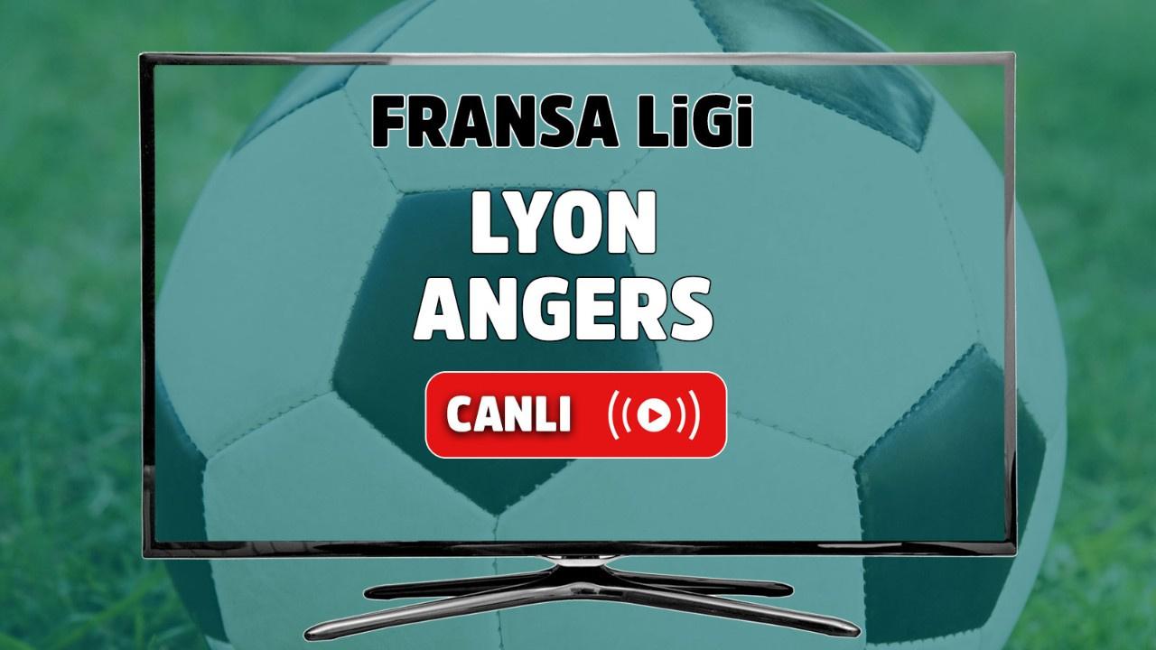 Lyon - Angers Canlı
