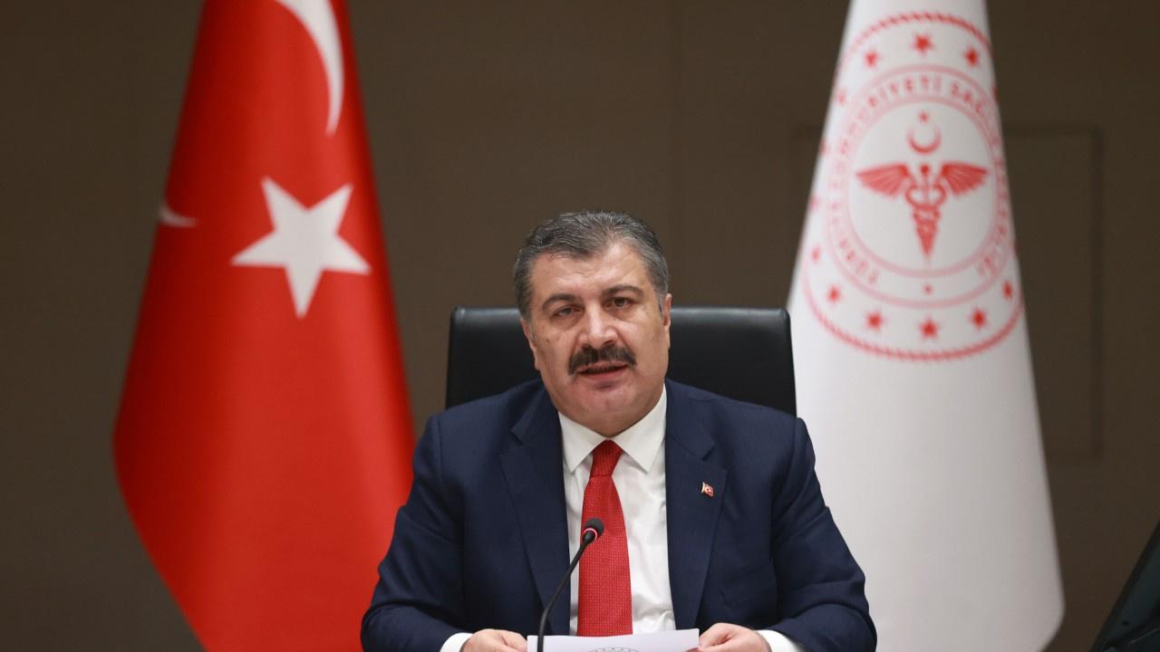 Sağlık Bakanı Koca'dan açıklama