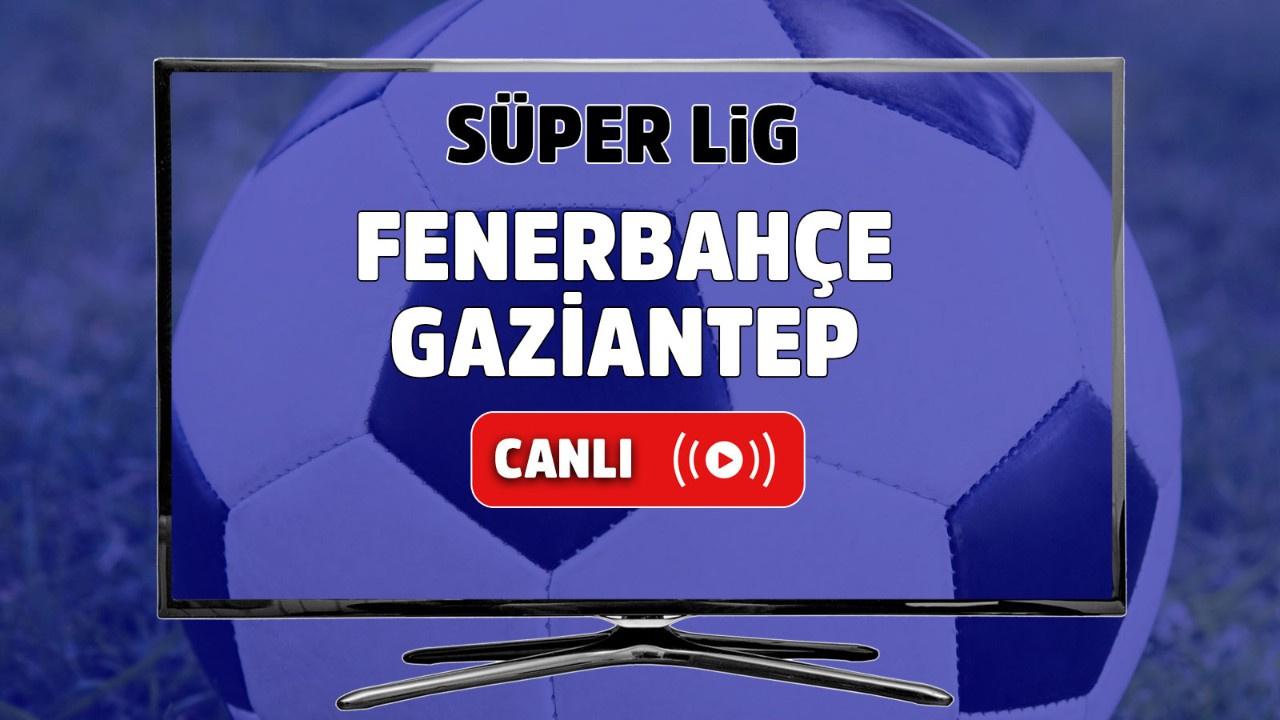 Fenerbahçe – Gaziantep Canlı