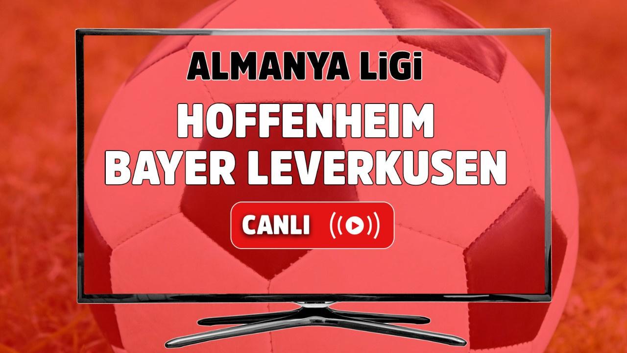 Hoffenheim – Bayer Leverkusen Canlı