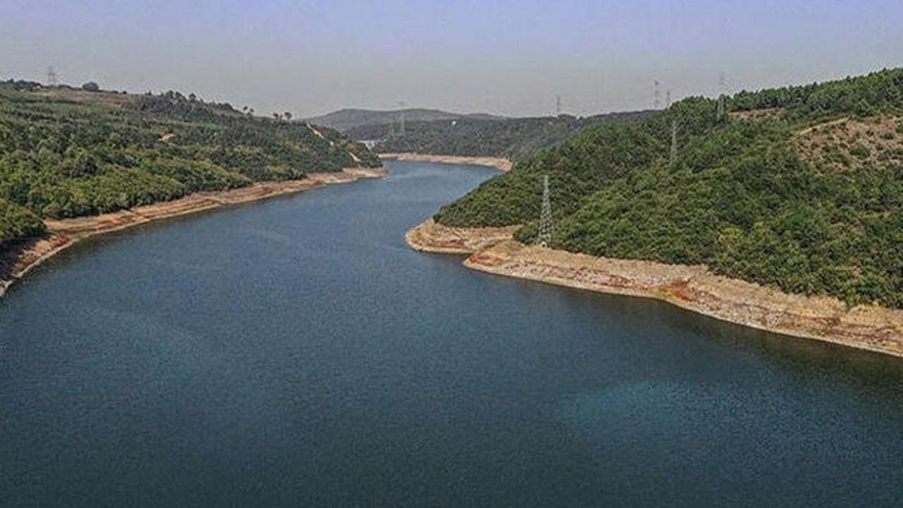 İstanbul barajlarındaki doluluk oranı...