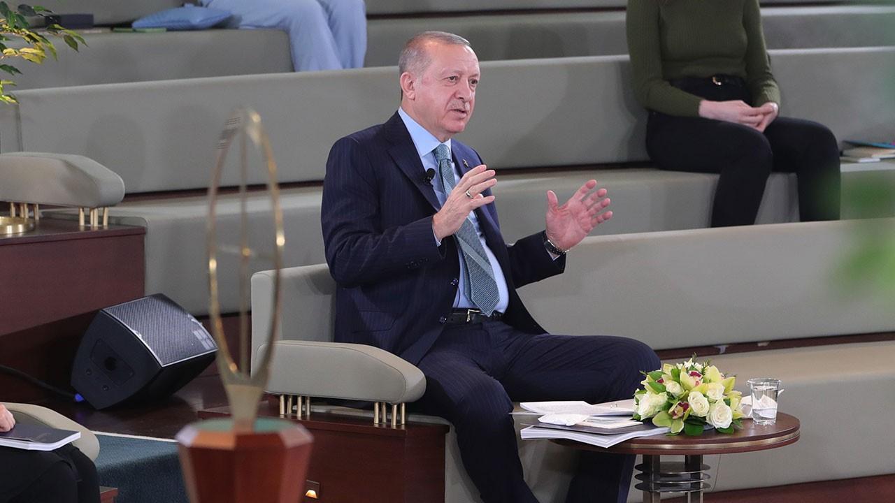 Erdoğan'dan net mesajlar