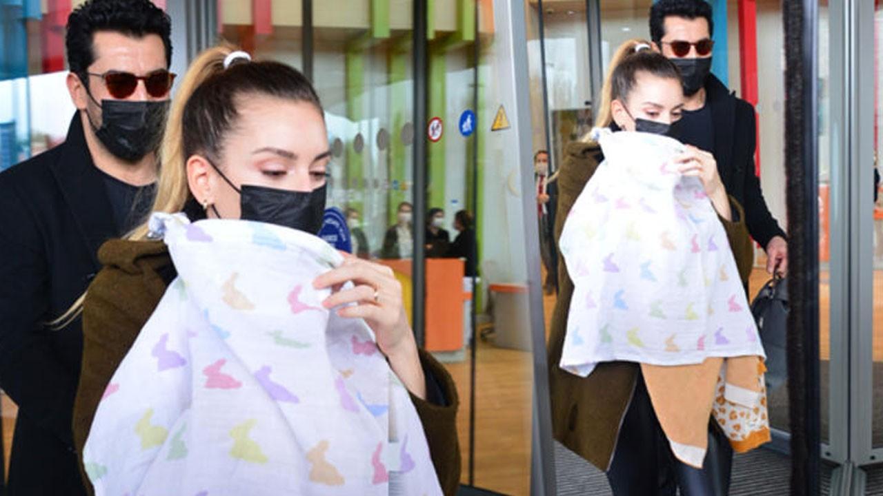 Sinem Kobal kızı Lalin'in yüzünü paylaştı