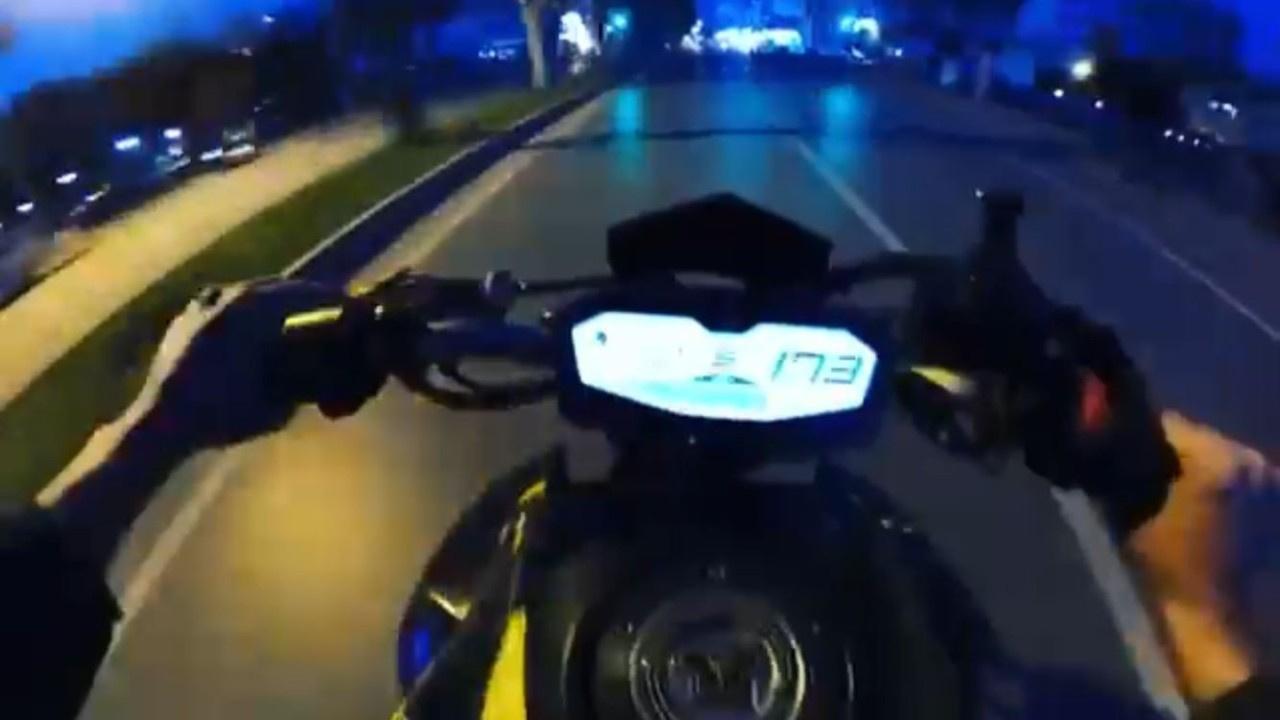 Kuralsız motosikletliye ceza yağdı