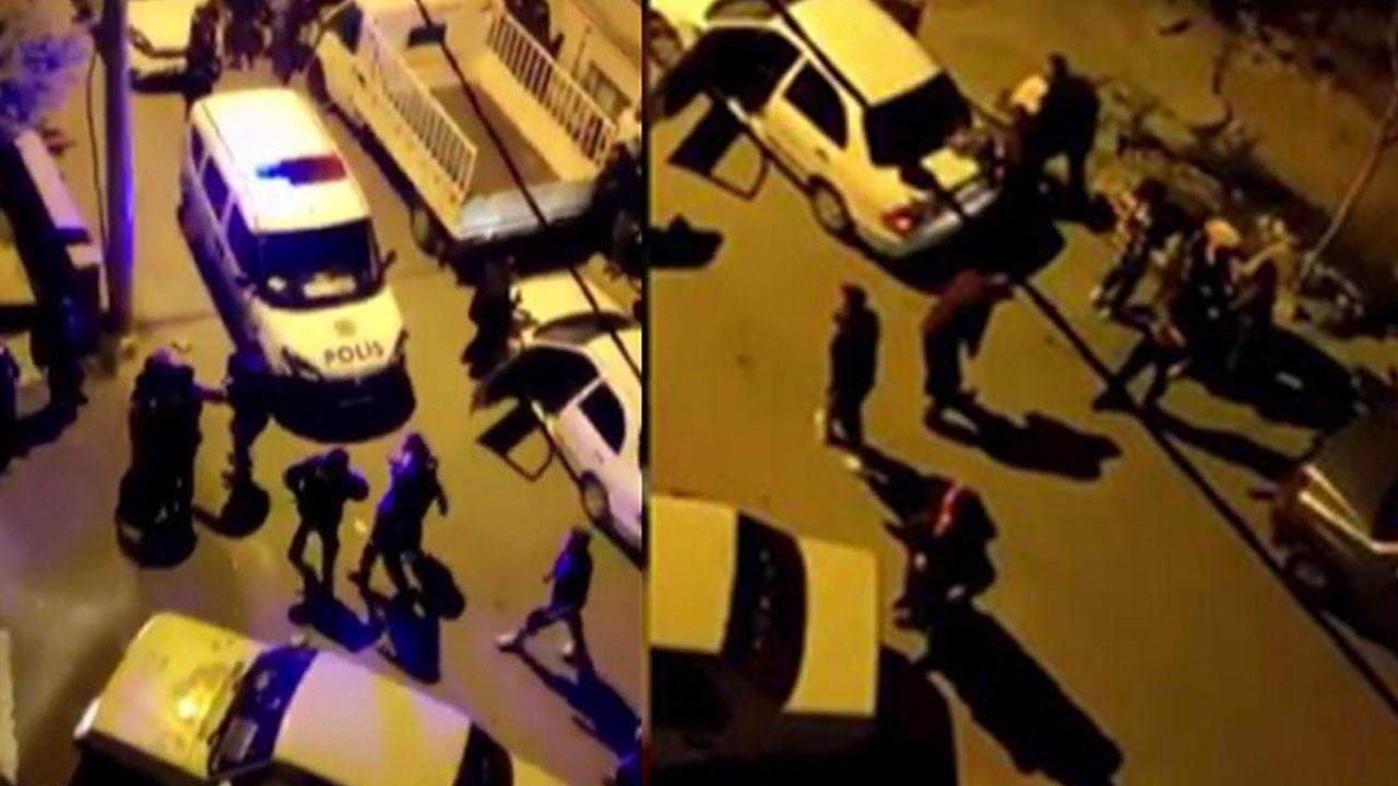 Kahramanmaraş'ta savaş gibi mahalle kavgası