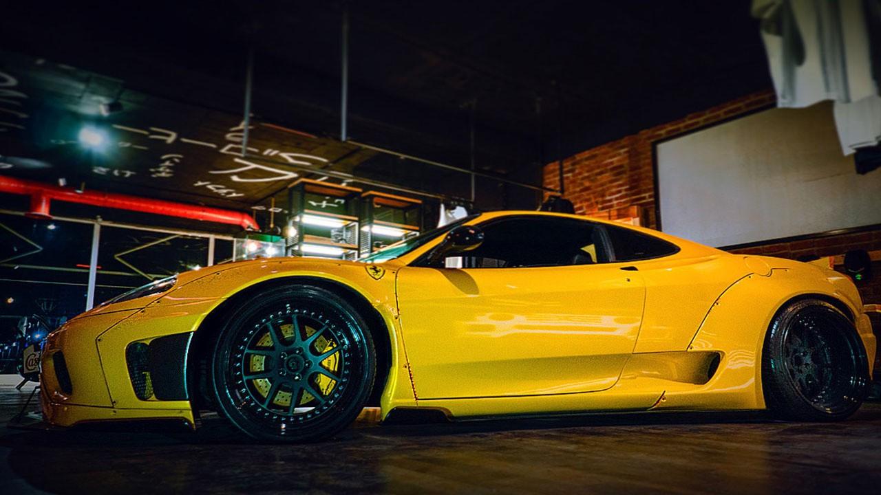 Milyonluk Ferrari'ye özel dizayn yaptı
