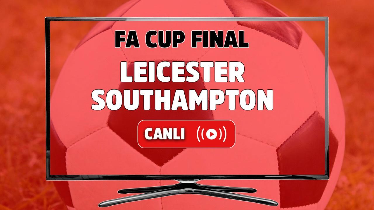 Leicester City – Southampton Canlı izle