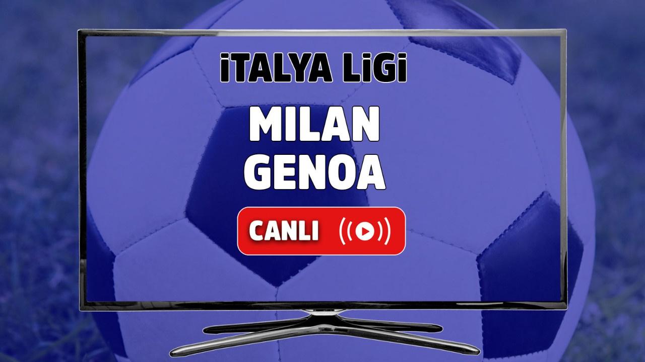 Milan - Genoa Canlı