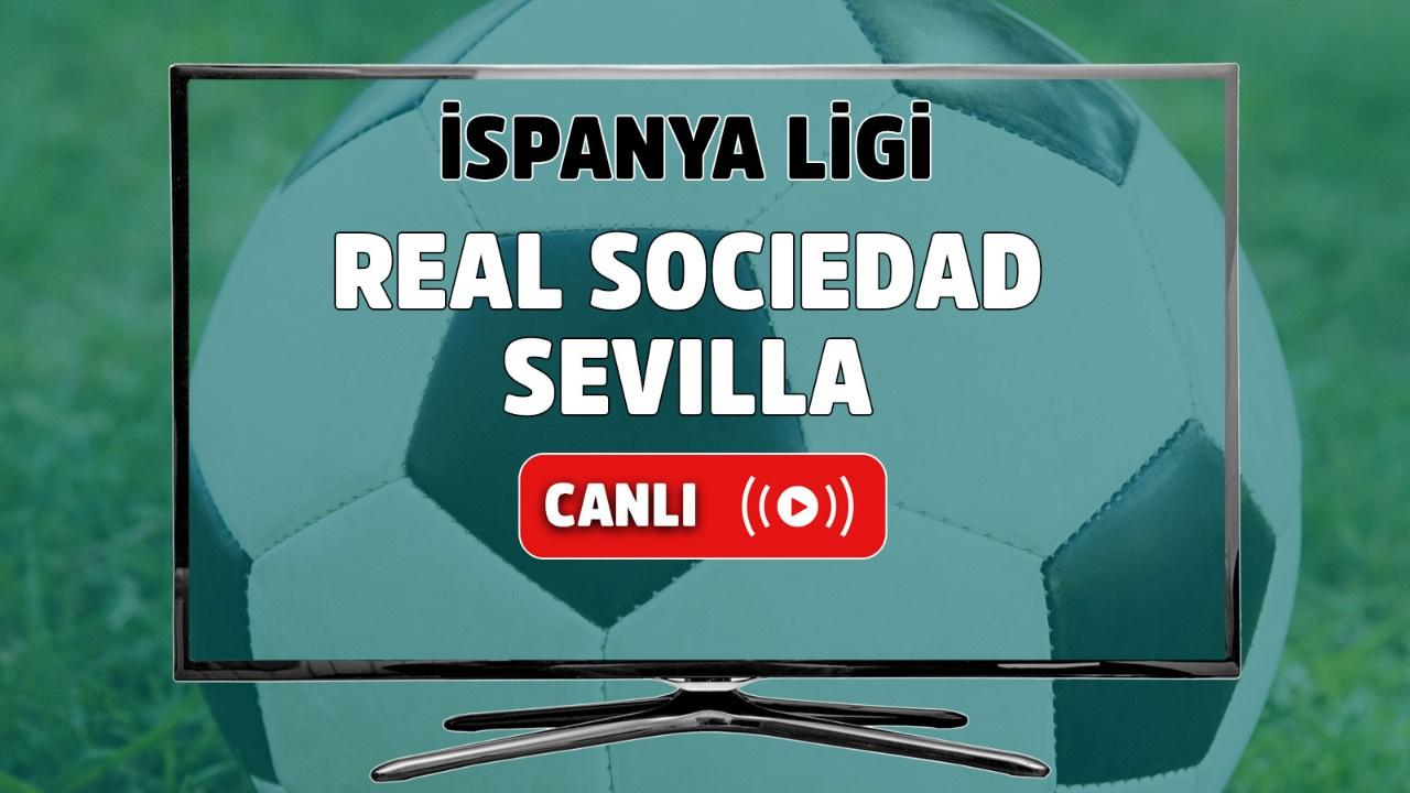 Real Sociedad - Sevilla Canlı