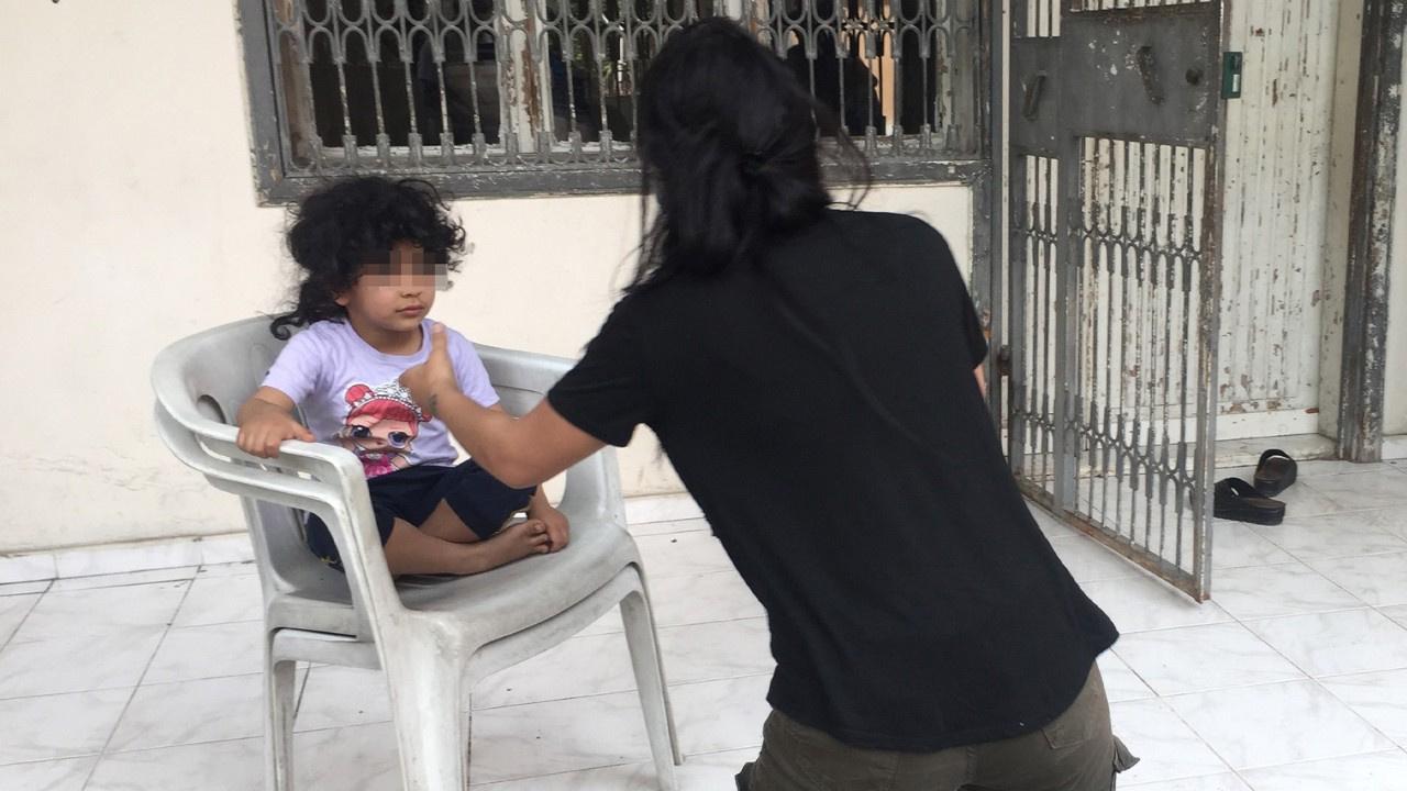 4 yaşındaki kızını evde bıraktı...