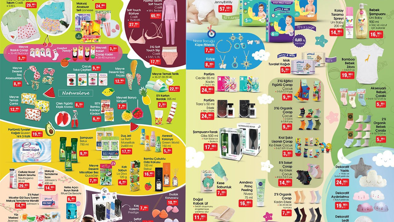 BİM 21 Nisan 2021 Aktüel ürünler kataloğu!