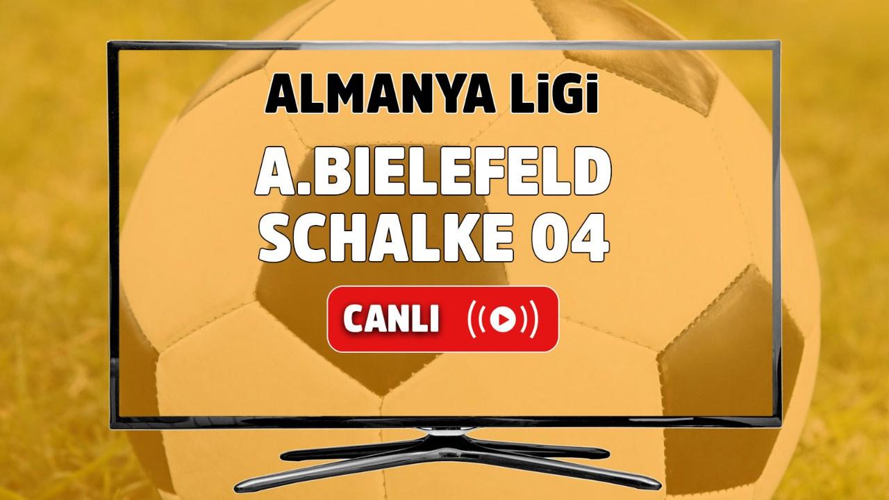 Arminia Bielefeld – Schalke 04 Canlı