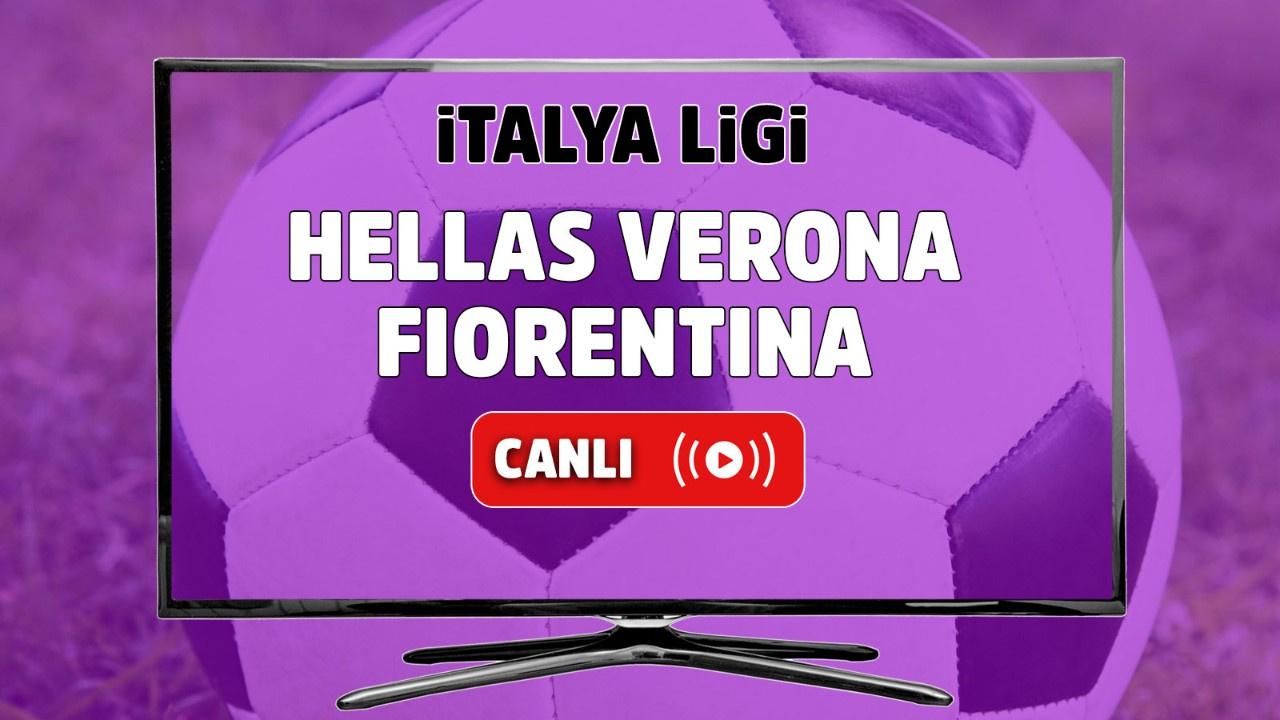 Hellas Verona - Fiorentina Canlı