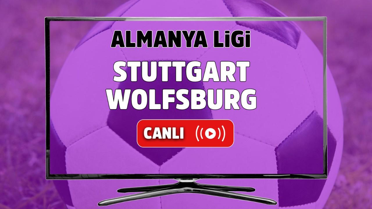 Stuttgart – Wolfsburg Canlı