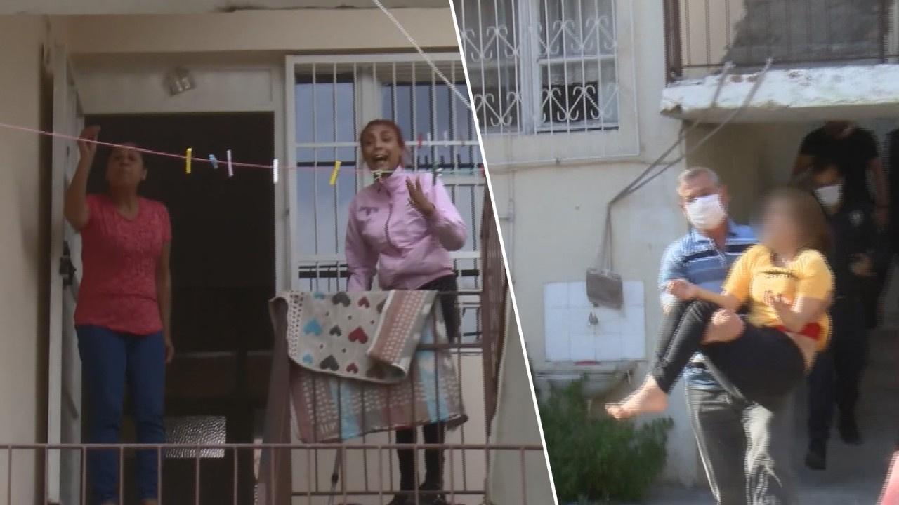 Bağımlı abladan engelli kız kardeşe şiddet!