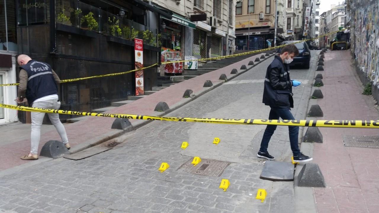 İstanbul'un göbeği Beyoğlu'nda çatışma çıktı