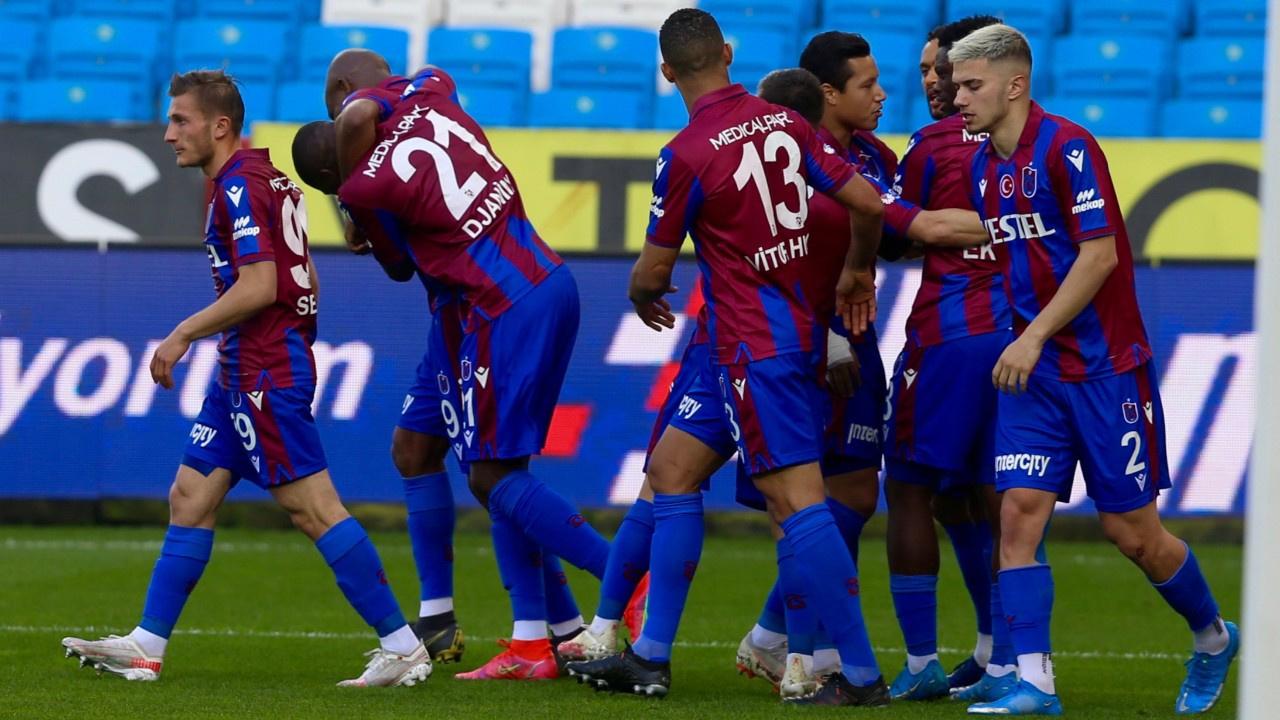 Trabzonspor kendi evinde kazandı