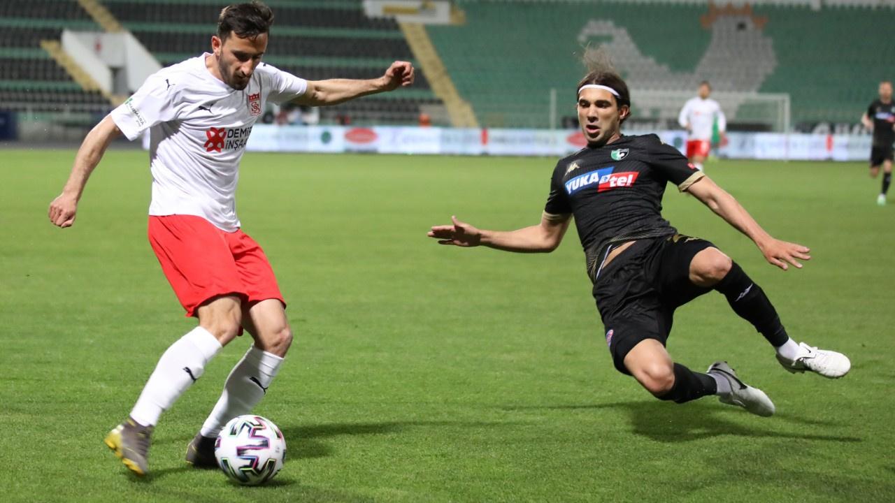 Sivasspor bu sezon 16. kez berabere kaldı