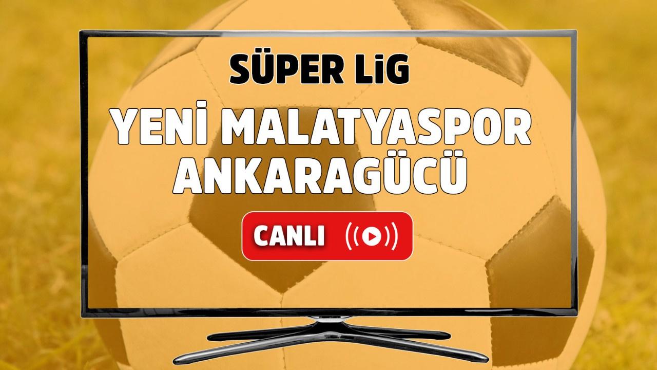Yeni Malatyaspor – Ankaragücü Canlı